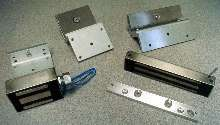 Electromagnetic Locks suit low-level security applications.