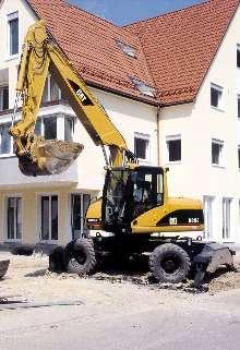 Wheel Excavators feature comfortable operator's station.