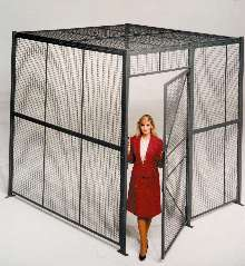Woven Wire Partitions separate, secure, and store valued items.