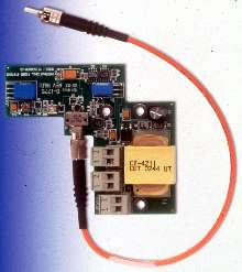Video/Data Transmitter/Receiver fits into dome cameras.