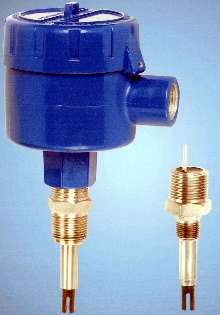 Liquid Level Switch measures liquid nitrogen/oxygen.