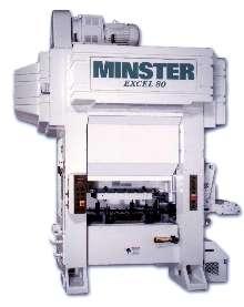 Presses offer infinitely adjustable stroke length.