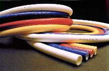 Reinforced Hose handles elevated pressure applications.