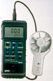 Thermo-Anemometer withstands air speeds to 90 mph.