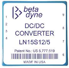 DC/DC Converters offer low output noise to 5 mVpp.