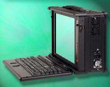 Laptop Computer is ruggedized to suit various applications.