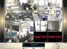 Surveillance System allows access and control from anywhere.