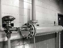 Water Heater has double-wall heat exchanger.