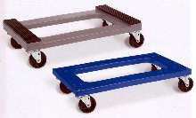 Plastic Dollies offer padded or flush deck.