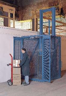 Vertical Lift services in-plant mezzanines.