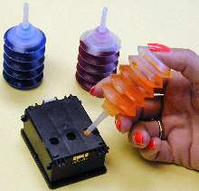 Refill Kits reduce printing costs.