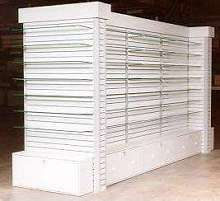 Partition Wall Displays assemble neatly and easily.