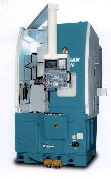 Vertical CNC Lathe offers max turning diameter of 16.54 in.