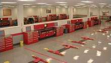 Cabinet System suits automotive service facilities.