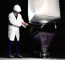 Bulk Bags feature remote open discharge.
