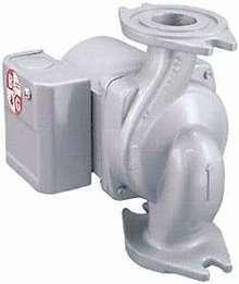 Wet-Rotor Circulator has cast stainless-steel body.