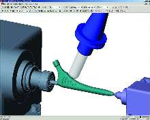CAM System supports simultaneous 5-axis machining.
