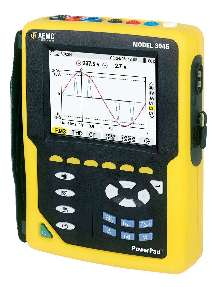 Analyzer measures power and power quality.
