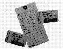 Tags and Labels are printed on Nomex® stock.