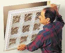 Glass-Block Window facilitates installation.