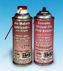 Aerosols provide mold release and lubrication.