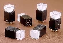 Pushbutton Switches suit audio, broadcast, and telecommunications.