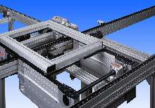 Transfer System can carry pallets up to 250 kg.