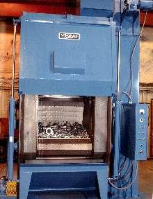 Steel Belt Tumble Blaster handles large, hot castings.