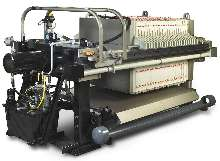 Filter Press separates solids from liquids.
