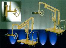 Manipulator includes gripping and rotating attachment.