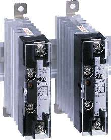 Solid State Relay has output status LED.