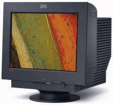 CRT Monitor is compatible with IBM PC systems.