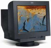 Color CRT Monitor offers low distortion and low glare.