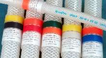 Silicone Hose Labeling System suits sanitary applications.