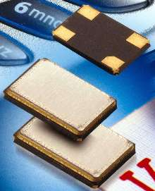 Compact Crystals suit handheld communications applications.