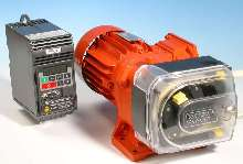 Peristaltic Pump features close-coupled drive options.
