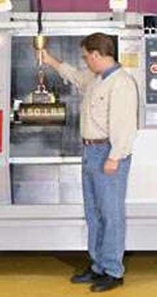 Lift Hoist lets users lift loads of up to 500 lb.
