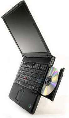 Notebook Computer has high-speed 60 GB hard disk drive.