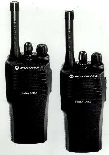 Portable 2-Way Radios come in 4- or 16-channel models.
