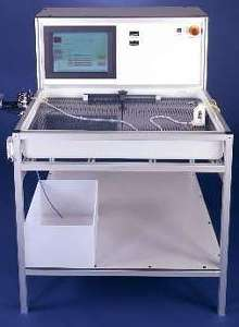 Test Equipment analyzes catheter and stent delivery performance.