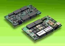 DC/DC Converters meet needs of processor-equipped loads.