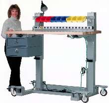 Adjustable-Height Workbench has 500 lb load capacity.