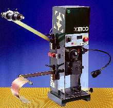 Crimping Press attaches strip or loose terminals and blades.