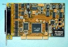 A/D Boards provide 14-bit precision at 400 KHz.