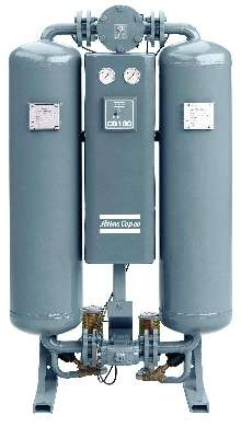 Desiccant Dryers offer capacities from 138-594 cfm.