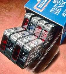 Sensors come in standard 50 x 50 mm block style.