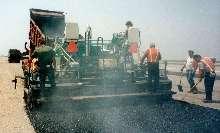 Liquid Suppressant eliminates asphalt odors.