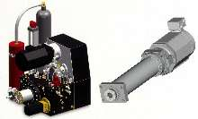 Motion Control Systems combine electric and hydraulic technologies.