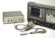 Probe measures high-impedance differential signals.