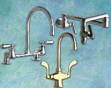 Faucets are for high-end residential kitchens.